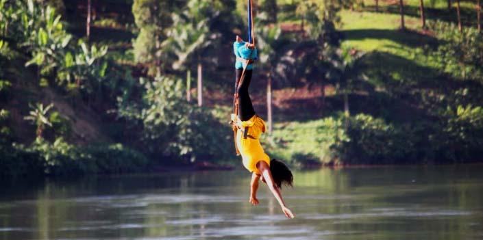 3 days jinja tour adventure - bungee jumping