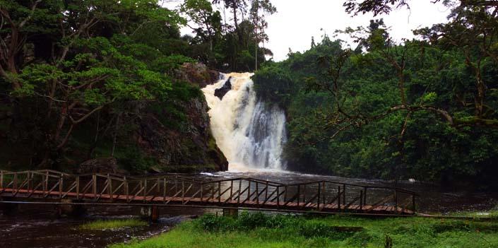 climbing top sezibwa falls