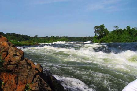 Source of the Nile - Jinja town