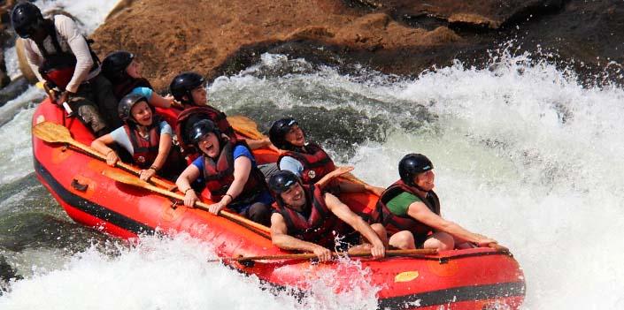 white water rafting jinja nile tour