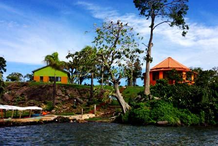 Samuka Island  - Jinja town
